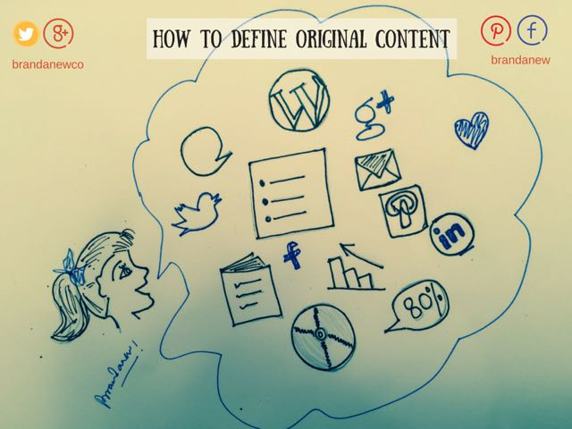 How to Define Original Content