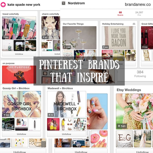 Pinterest Brands Accounts That Inspire