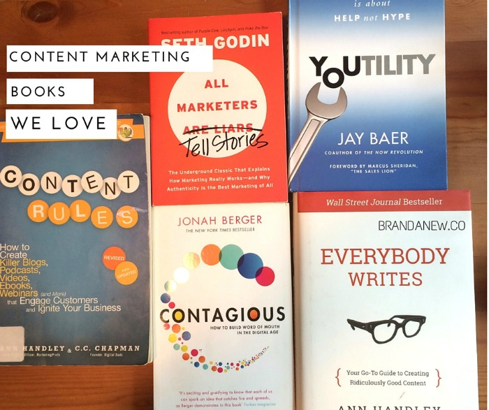 Do Epic Shit 5 Content Marketing Books That Inspire Us