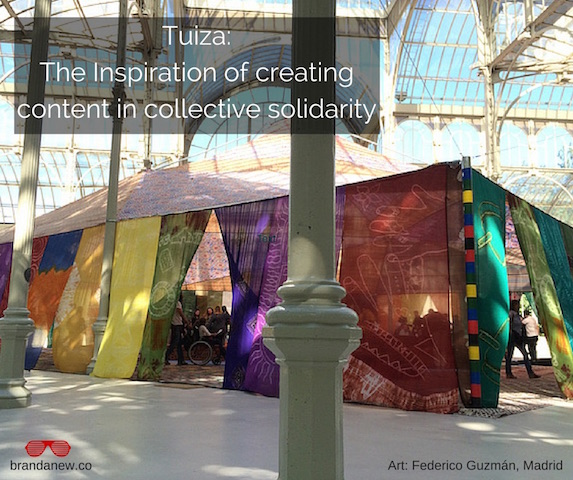 the inspiration of creating content in collective solidarity