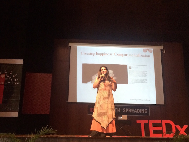 Brandanew Spreading Happiness At TEDx