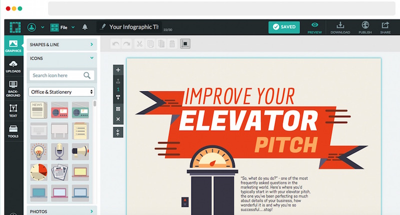 Top 4 Tools To Make Infographics And Visuals in 5 Minutes -