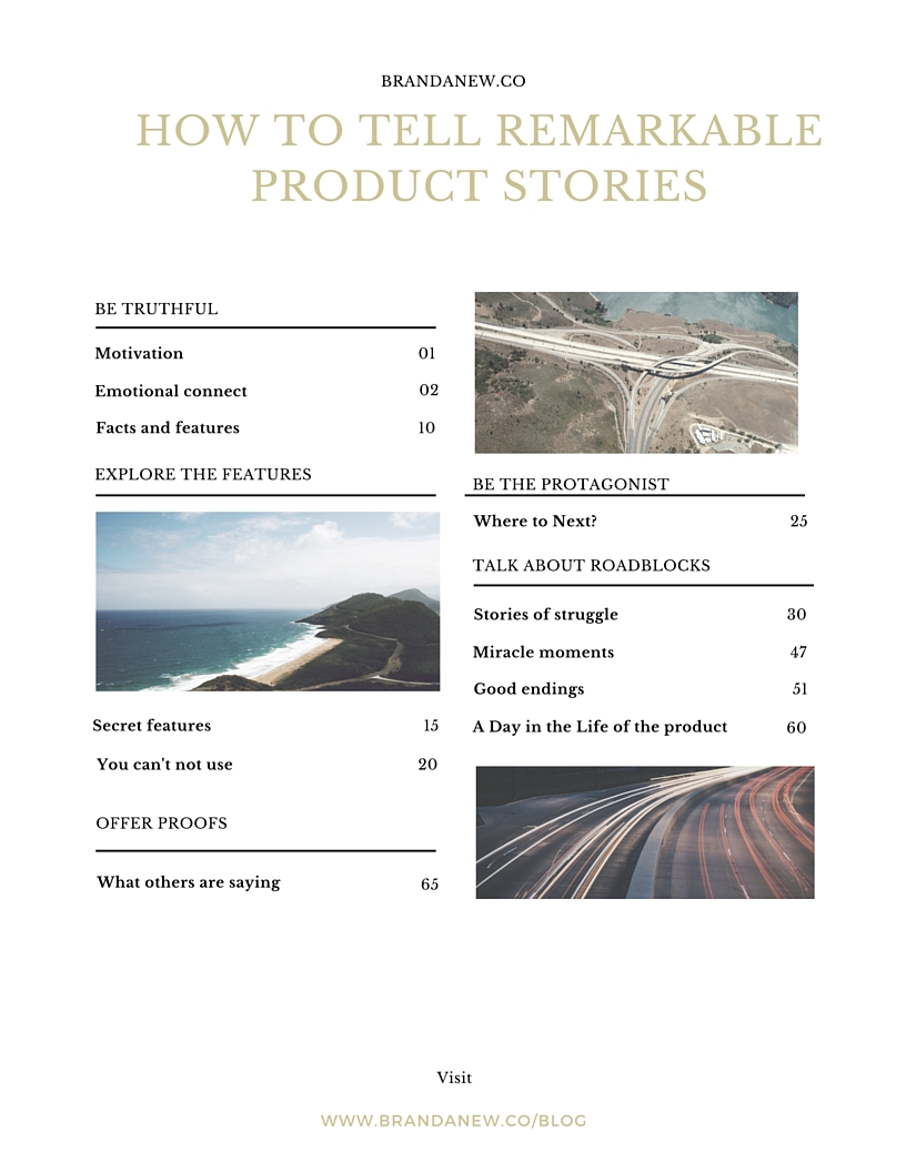 How To Tell A Remarkable Product Story! Brandanew