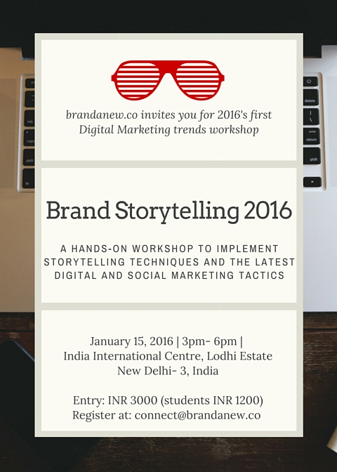 Digital Marketing And Brand Storytelling Trends 2016
