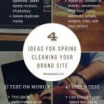 How to Spring Clean Your Brand Website And Why!