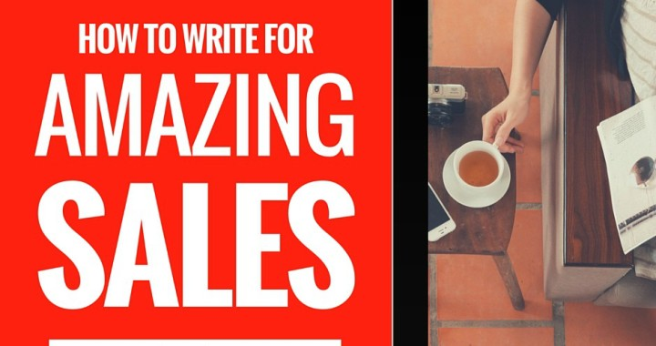 How to write for amazing sales brandanew