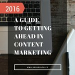 Monthly Roundup: How Can You Get Ahead In Content Marketing?