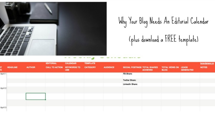 An Editorial Calendar For Your Blog Is A Remarkable Need