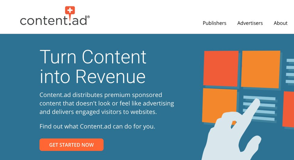 contentad revcontent taboola How to Supercharge your Content Marketing with Paid Advertising