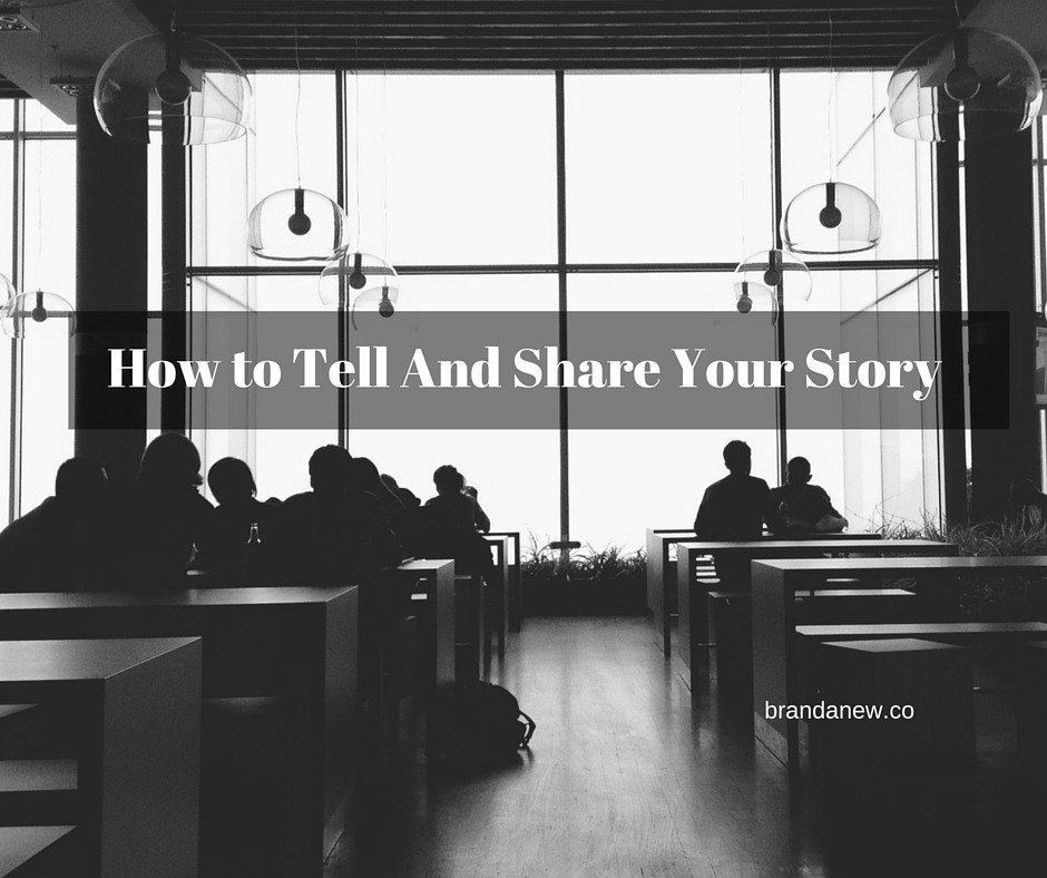 How To Be A Thought Leader And Tell Your Story Brandanew