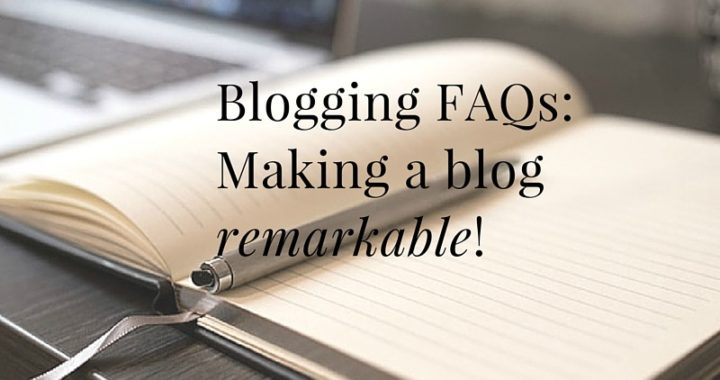 FAQs on blogging from our workshop in Ann Arbor