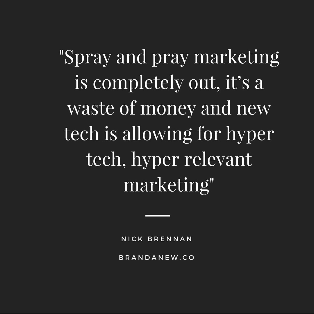 Social Trends Podcast: Let's Mourn the Death of Spray and Pray Marketing