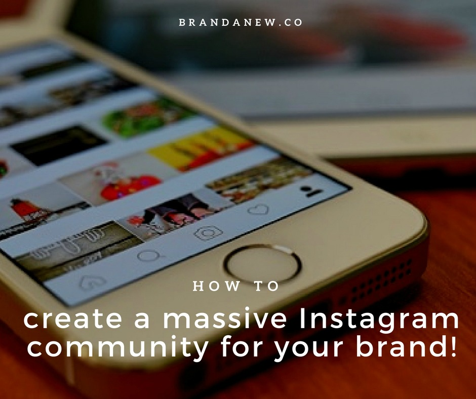 How to Build A Massive Community on Instagram For Your Brand