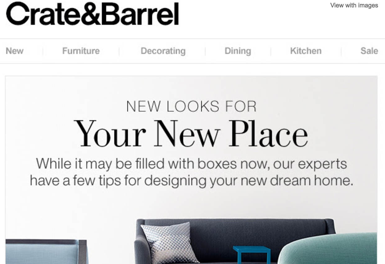 ... Crate And Barrel Furniture ... Brandanew