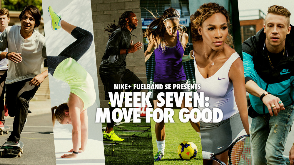 nike fuelband brand identity campaign